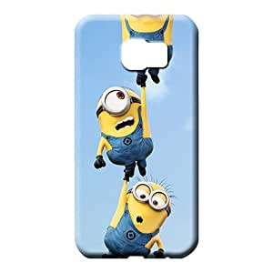 samsung galaxy s6 cell phone covers Colorful Series colorful minions