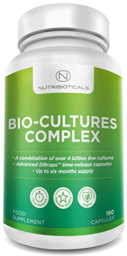 Bio-Cultures with TIME RELEASE capsules   Up to 6 Months Supply 180...