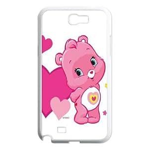 Care Bear Samsung Galaxy N2 7100 Cell Phone Case White Phone cover E1351900