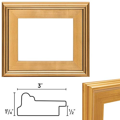 (Creative Mark Plein Air Wooden Picture Frame -Single Open Frame - Size 12x16