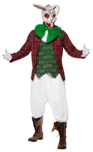 Rabid Rabbit Costume (Smiffys Men's Rabid Rabbit Costume)