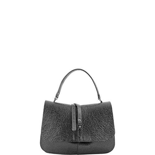 Borsa Hand Bag M BS 5980 MKG Nero  Amazon.it  Abbigliamento e2a9cf8c792