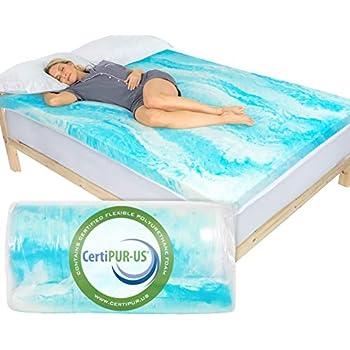 Amazon Com Xtra Comfort Memory Foam Mattress Topper Twin