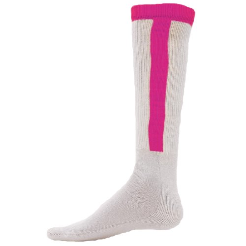 Red Lion Diamond Stirrup Baseball / Softball Tube Sock ( Neon Pink - Small (Red Lion Diamond)