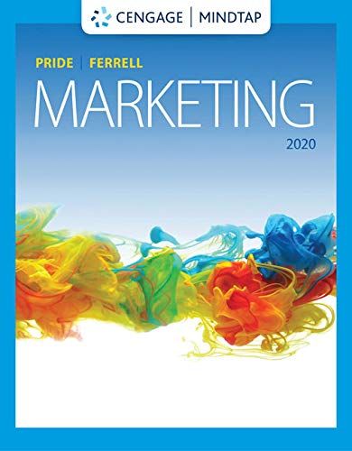 MindTap for Pride/Ferrell's Marketing 2020, 20th Edition [Online Code] by Cengage Learning