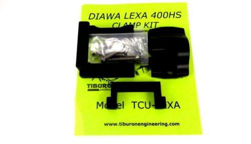 Tiburon Universal Reel Clamp Kit Shimano Tranx Trinidad Lexa 400HS Newell (Lexa 400HS, -