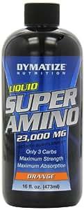 Dymatize Nutrition Super Amino 23000mg, Liquid, Orange, 16 Fluid Ounce (Pack of 2)