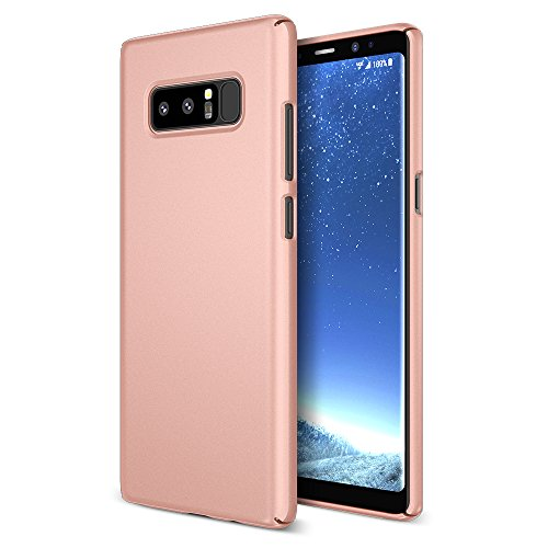 Maxboost mSnap Galaxy Note 8 Case [Rose Gold] Extreme Smooth Surface [Scratch Resistant] Matte Coating for Excellent Grip Thin Hard Protective PC Cover for Samsung Galaxy Note 8 (2017)