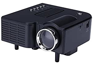 B1 LED LCD (QVGA) Mini Video Projector - International Version (No Warranty) - DIY Series - Black (FP3224B1-IV1)