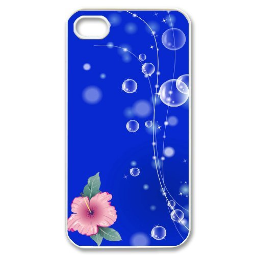SYYCH Phone case Of Colorful Water Bubbles 2 Cover Case For Iphone 4/4s
