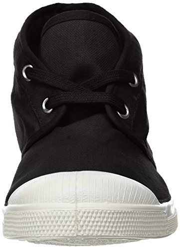 New Noir Tennis Femme Nils Bensimon Baskets carbone 5xq8RxF