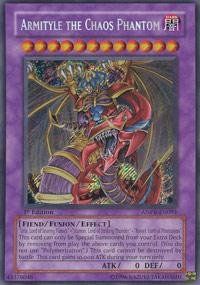 Yu-Gi-Oh! - Armityle the Chaos Phantom (ANPR-EN091) - Ancient Prophecy - Unlimited Edition - Secret Rare - Chaos Secret Rare Card