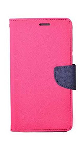 another chance 70c24 1d7f1 Xiaomi Redmi Note 2 Prime flip cover Pink: Amazon.in: Electronics