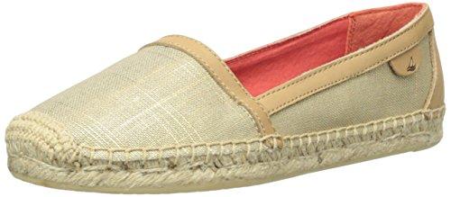 Sperry Top-Sider Women's Danica Boat Shoe, Gold/Metallic, 6 M US