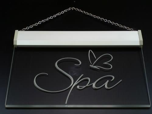 OPEN SPA Beauty Salon Shop LED Sign Night Light i050-g(c) by AdvPro 3D Sign (Image #4)
