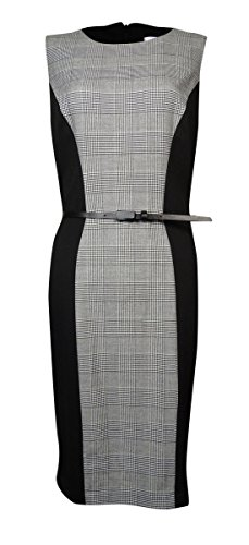 Buy belted knit ponte dress - 3