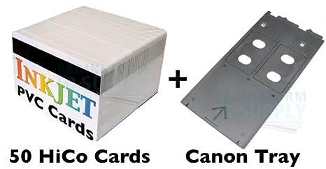 Amazon.com: PVC Tarjeta de Identificación Starter Kit – 50 ...