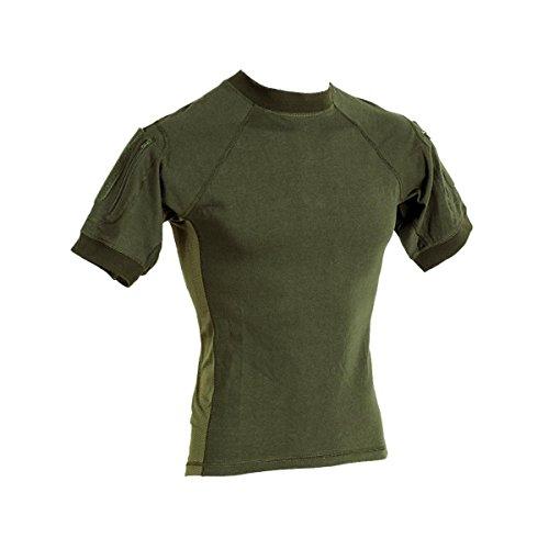 VooDoo Tactical 01-9583004093 Combat Short Sleeve Shirt, OD, Medium