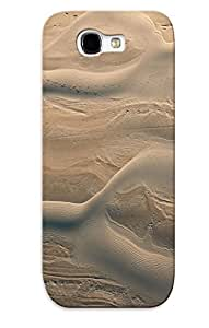 Appearance Snap-on Case Designed For Galaxy Note 2- Bicycles Deserts National Geographic Aerial Photography Aerial View (best Gifts For Lovers)