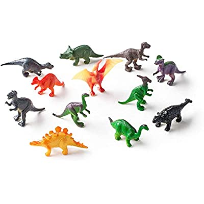 Dig a Dozen Dino Eggs Kit - Easter Egg Toys for Kids - Break Open 12 Unique Large Surprise Dinosaur Filled Eggs and Discover 12 Cute Dinosaurs - Archaeology Science STEM Crafts Gifts for Boys & Girls: Toys & Games