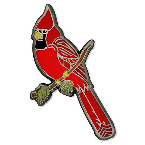 Enamel Bird Pin Brooch - 1