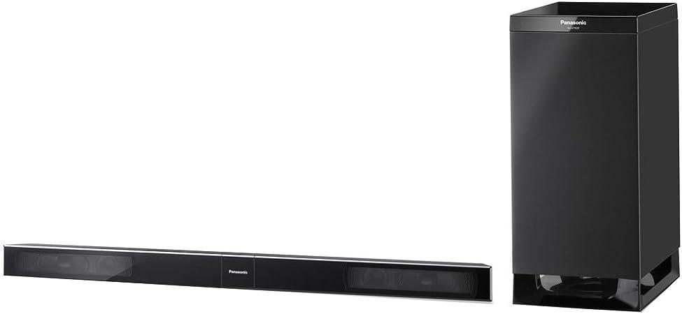 Panasonic SC-HTB20 Alámbrico 2.1 240W Negro Altavoz soundbar - Barra de Sonido (2.1 Canales, 240 W, Dolby Digital,Dolby Pro Logic II,DTS, 130 W, 6 Ω, 10%): Amazon.es: Electrónica
