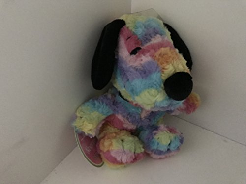 Hallmark Plush Rainbow Snoopy in All-Over Colorful Rainbow Pattern - Snoopy Chicks