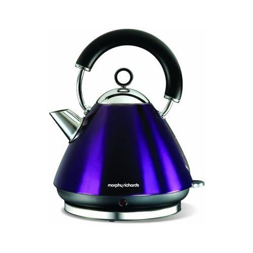 Morphy Richards Accents 43769 Pyramid Kettle - Plum Purple