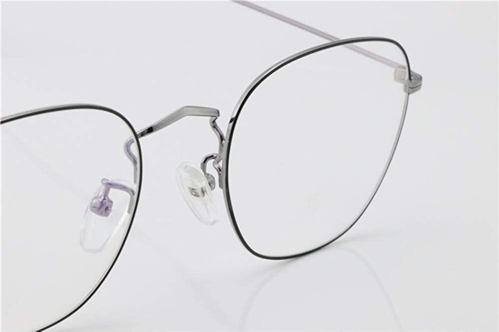 Ultralight retro///flat mirror anti-blue goggles bright black