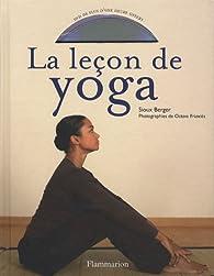 La leçon de yoga (1DVD) par Sioux Berger