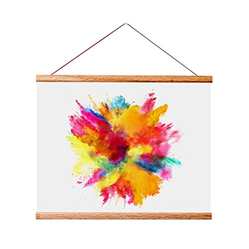 Landmass 11x14 11x17 Wood Hanger Frame for Posters and Prints. 11