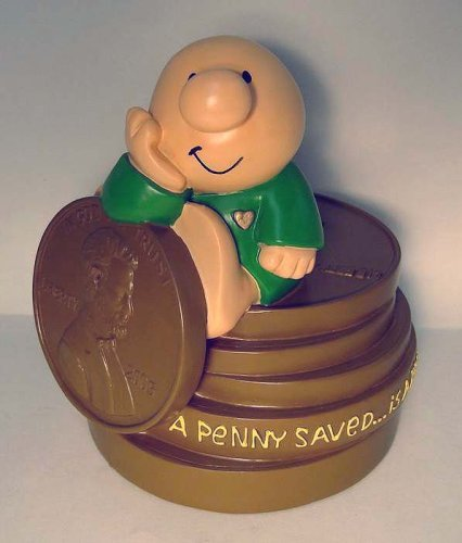 Ziggy Heart of Gold Penny Saver Plastic Coin Bank