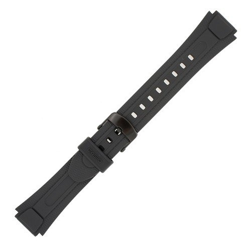 Casio 18mm Black Resin Band (Casio Watch Band)