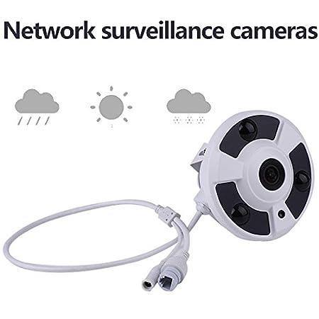 Hanbaili La detección panorámica del movimiento de la noche de la ayuda 1080P de la cámara IP de Fisheye de 360 grados 360 mantiene la seguridad casera del ...