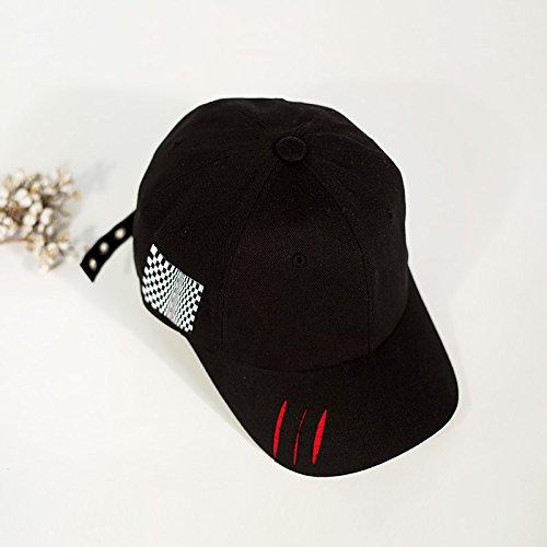 Amantes Mujeres Baseball primavera Masculinos De Ocio Negro Ajustable gorra Mszyz Hat pSnIw5xpa