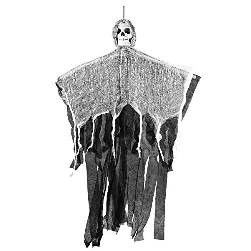 (YeahiBaby Halloween Haunters Hanging Ghost Decoration with Realistic Floating Ghoul Haunted House Prop Decor )
