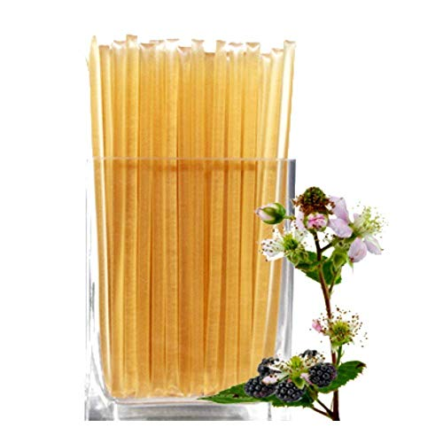 Floral Honeystix - Blackberry Blossom - 100% Honey - Pack of 50 Stix - Honey Sticks by Nature's Kick ()