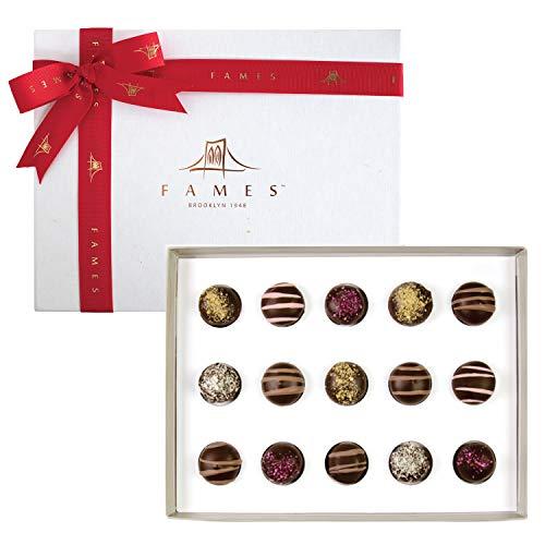 Luxury Chocolate Assortment Gift Box, Handcrafted Deluxe Chocolate Gift, Kosher, Dairy Free
