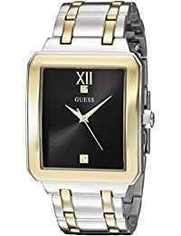 GUESS Men's U0917G3 Analog Display Quartz Two Tone Watch