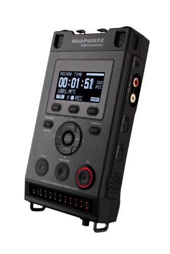 Marantz Professional PMD661 MKII | Handheld Broadcast Recorder with Passcode & File Encryption (Mic + LINE Inputs)