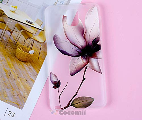 Cocomii Cute Armor Galaxy Note 3 Case New [Feels So Good in Hand] Premium Pretty 3D Pattern Relief Silicone Shockproof Bumper Shell [Slim] Full Body Cover for Samsung Galaxy Note 3 (C.Lotus Flowers)