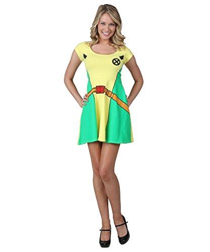 [X-Men I Am Rogue Dress Small] (Women X Men Costumes)