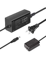 AC-PW20 ACPW20 Power Supply Adapter NP-FW50 Dummy Battery Kit for Sony Alpha A6000 A6100 A5100 A6400 A6500 A6300 A5000 A7 A7II A7RII A7S A7SII A55 ZV-E10 RX10II RX10III RX10IV Cameras by Tengdaxing