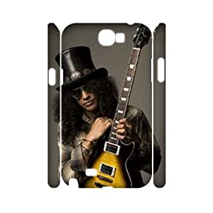 Samsung Galaxy Note 2 N7100 3D Personalized Phone Back Case with Slash Image