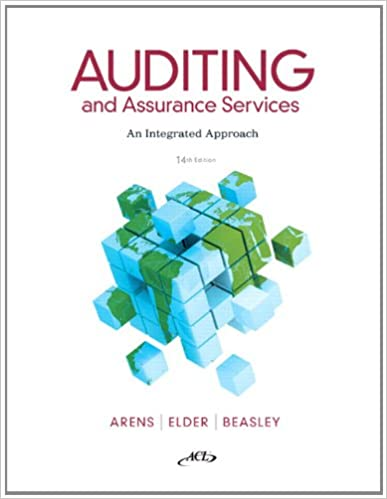 auditing and assurance services 9th edition