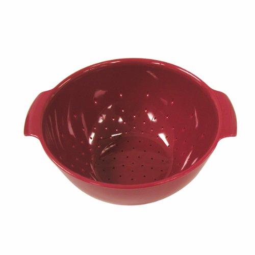 (Norpro 2141R 8-Inch Colander, Red)
