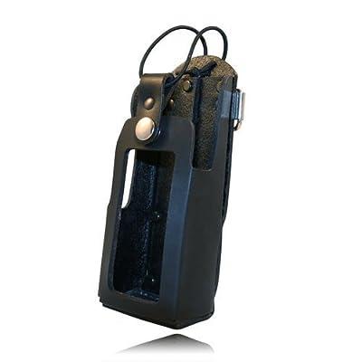 Boston Leather Firemens Radio Holder - 5480RC-1-HW by Boston Leather