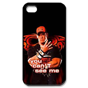 Custom Personalized WWE John Cena Cover Hard Plastic iPhone 4 4S Case