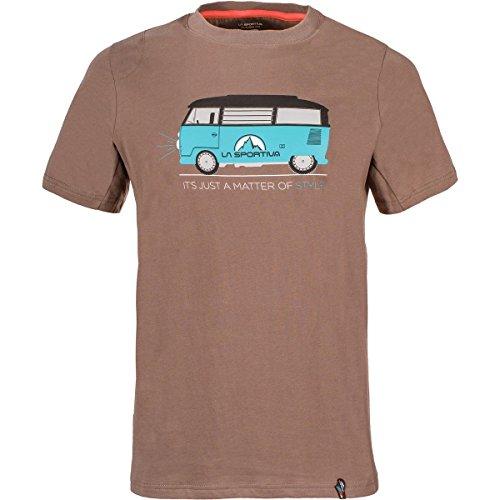 La Sportiva Mens Van Climbing T-Shirt - Rock Climbing Shirt for Men