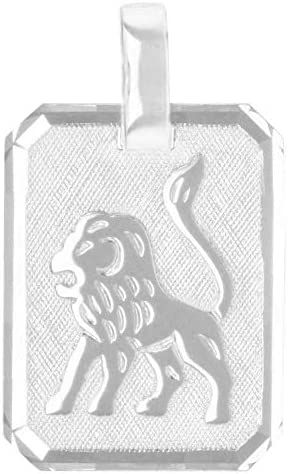 MyGold Sternzeichen Anhänger (Ohne Kette) Sterlingsilber 925 Silber Gravuranhänger 21mm x 12mm Tierkreiszeichen Horoskop Kettenanhänger Silberanhänger Gaudino MOD-03303
